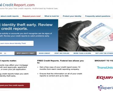 如何免费获得我的(Credit Report)信用报告?