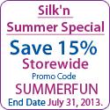 省15%所有silk'n的去毛和皮肤保养产品