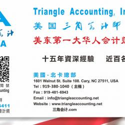 TRIANGLE ACCOUNTING